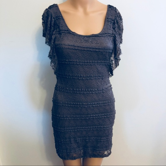 96eac931b4bb Divided Dresses | Orchid Butterfly Sleeve Mini Dress 8 | Poshmark